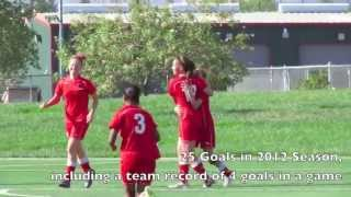 Madison Thompson U16 Girls Club Soccer 2012 Highlights