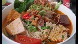 Nấu bún riêu cua đồng chuẩn vị truyền thống, nước lèo cua đậm đà thơm tự nhiên || Natha Food