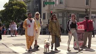 Bay to Breakers - Part III - San Francisco 5-19-2019 - french american tv