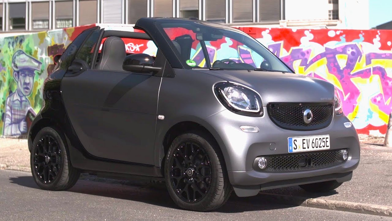 2017 Smart Fortwo Cabrio Electric Drive Ania Grey