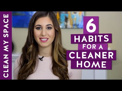 6 Simple Habits for a Cleaner Home to Start TODAY