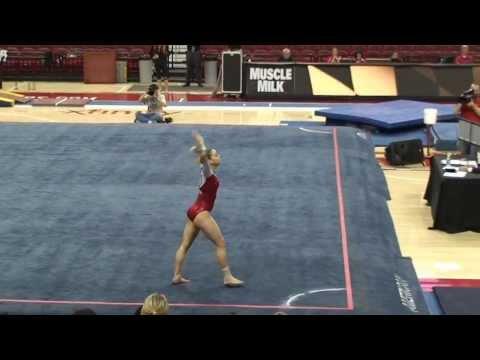 Emily Brauckmuller University of Maryland Gymnastics Freshman January 2014 Floor Routine