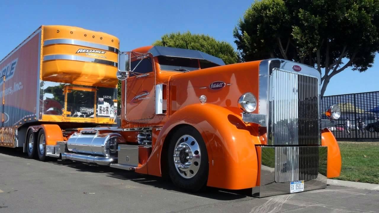 Les plus beaux camions du monde youtube for Camion americain interieur cabine