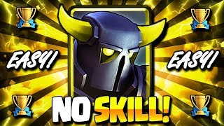 The NEW EASIEST PEKKA DECK in CLASH ROYALE!! 100% WIN RATE!