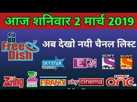 Download Dish Tv Satellite Full Auto Scan Channel List New