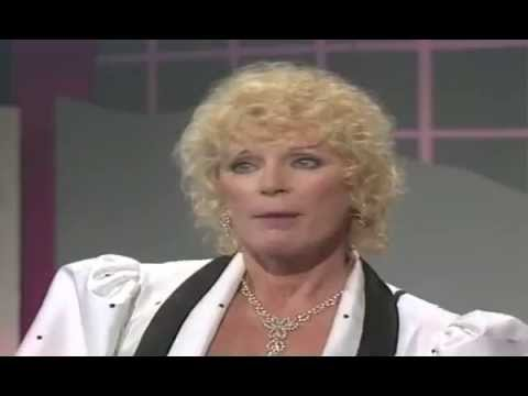 Günther Jauch - Gespräch mit Elke Sommer 1989