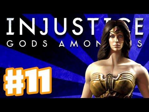 Injustice: Gods Among Us - Gameplay Walkthrough Part 11 - Wonder Woman (PS3, XBox 360, Wii U)