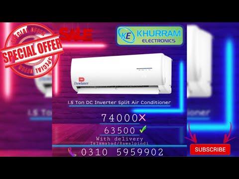 Dawlance Powercon Inverter 30 1 5 Ton Heat Cool Split Review In Urdu Youtube