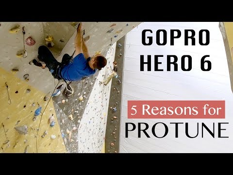 GoPro Hero 6 - 5 reasons for PROTUNE