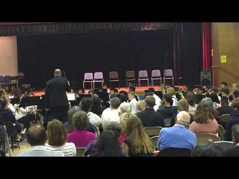 Montera Middle School Concert Band Spring 2018
