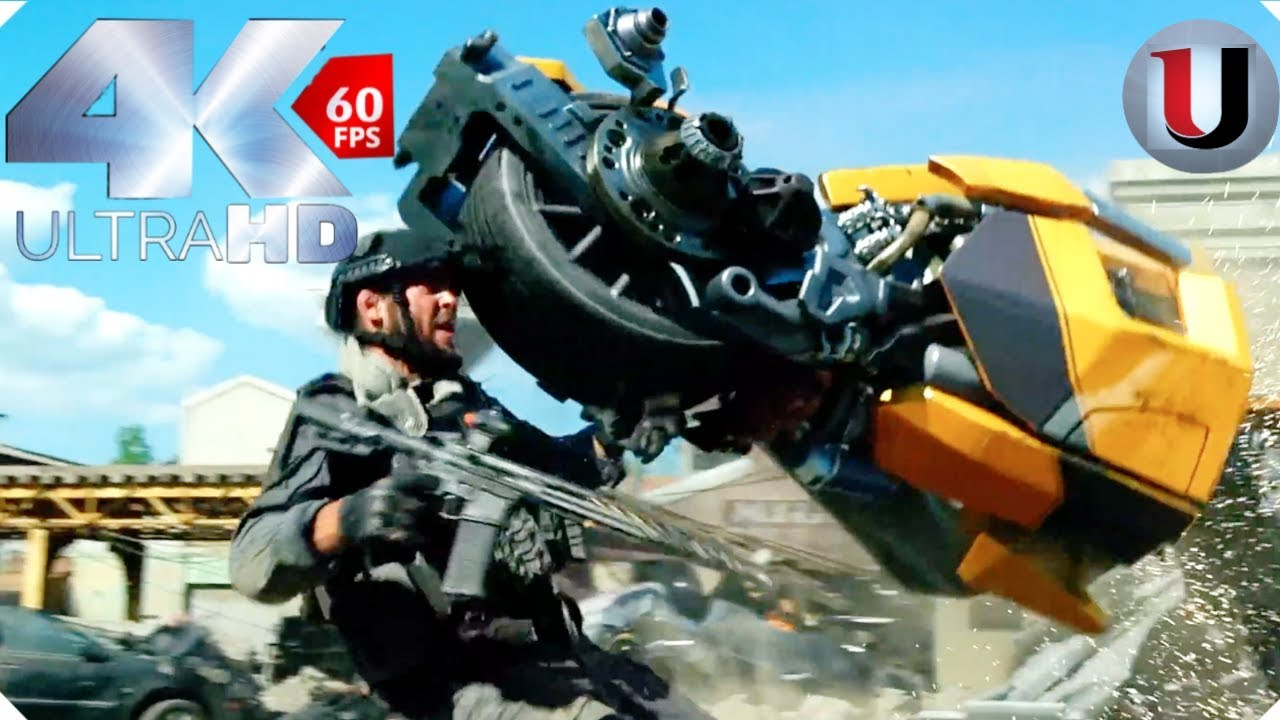 Download Transformers: The Last Knight - Bumble Bee Vs TRF - MOVIE CLIP (4K HD)