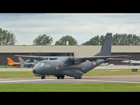 CASA IPTN CN-235M-300 French Air Force departure RIAT 2012