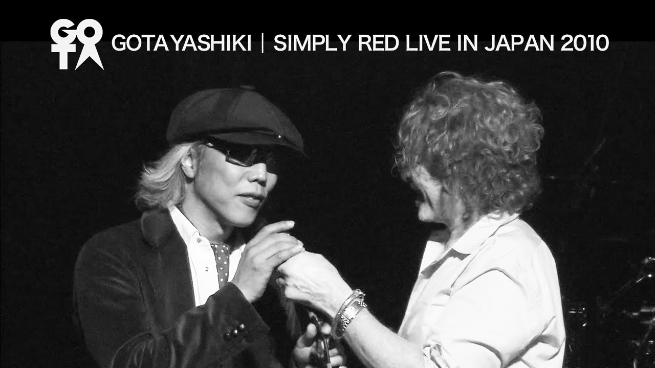 Download Simply Red - Stars LIVE with Gota Yashiki - Live in Japan