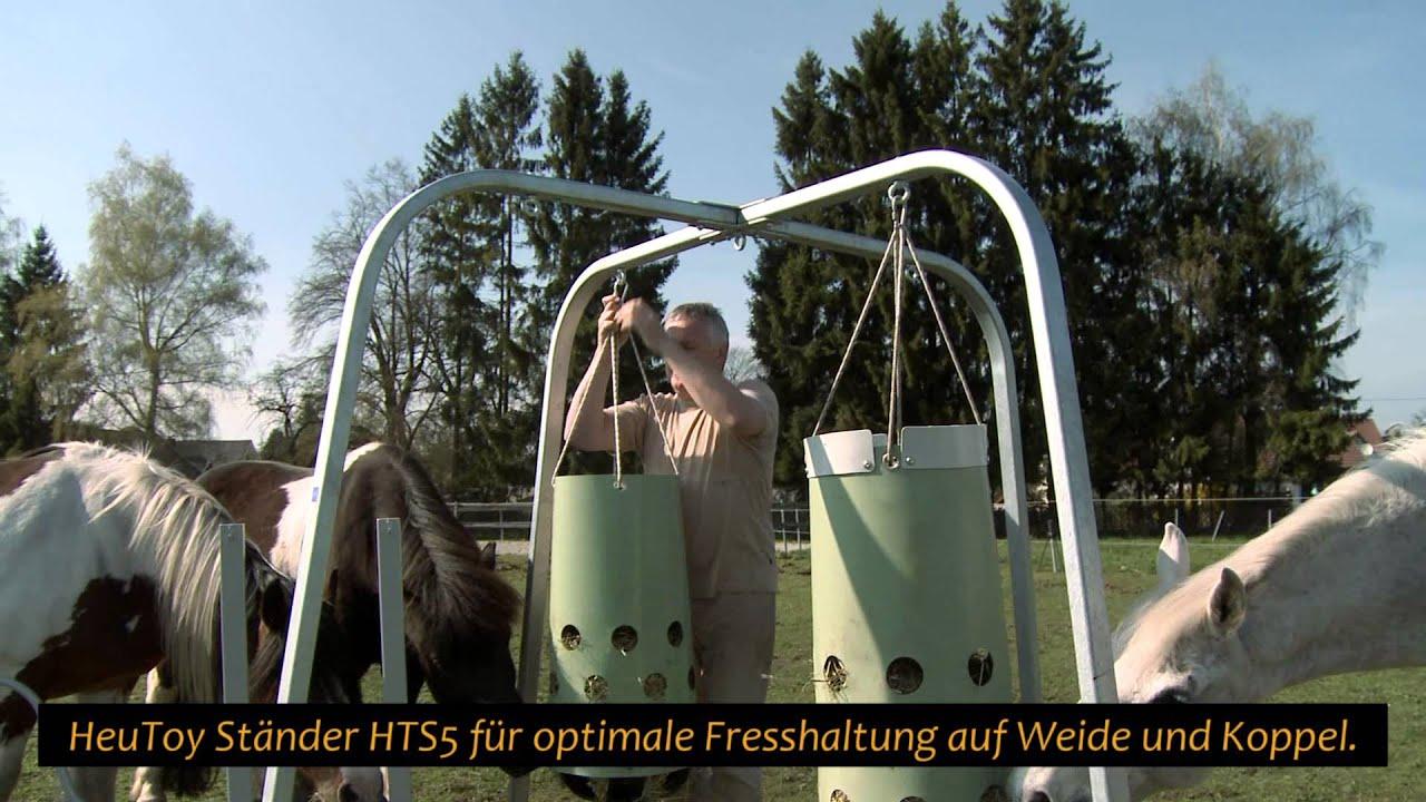 HeuToy - Erklärvideo, die Alternative zum Heunetz, Heuraufe, Heusack...