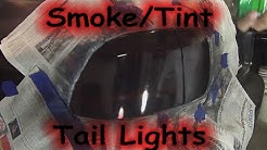DIY: Smoke / Tint your Taillights