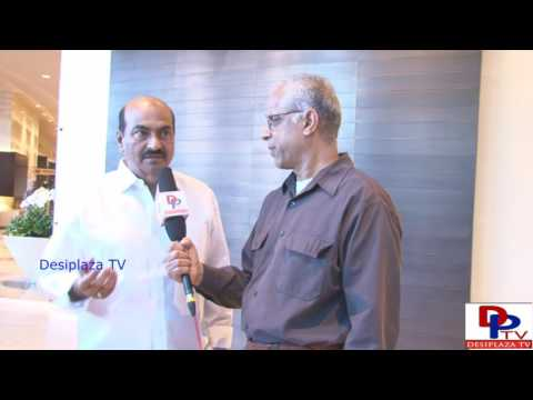 Tollywood Director Sri.Kodandarami Reddy speaking to Desiplaza TV at NATA Convention