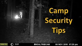 Camp Security while  Boondocking/Dispersed Camping