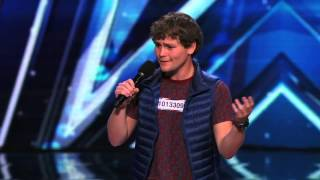 Drew Lynch - Stuttering Comedian r - Americas Got Talent 2015 Audition