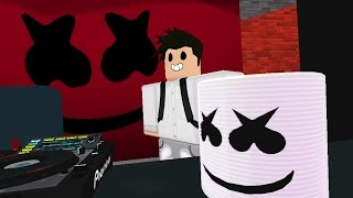 alone   marshmello roblox music video