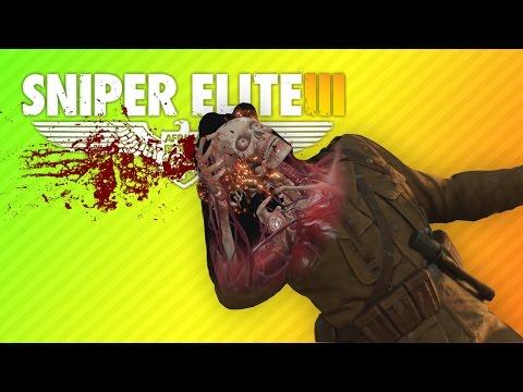 SHOOTING SCARY SKELETONS | Sniper Elite 3 |
