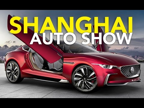 Top 10 Best Cars from the 2017 Shanghai Motor Show