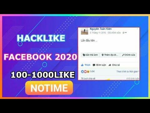 Hack Like Facebook Notime 1 Ngày 10k Like 2020 Chưa Ai Từng Share Copy Ghi Nguồn
