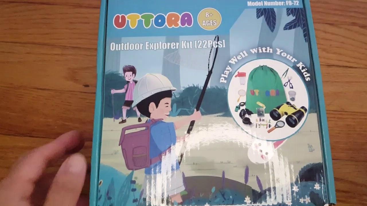 Outdoor explorer kit for kids :Uttora