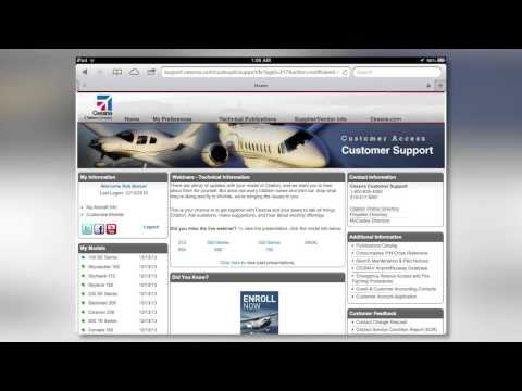 How to Download a Cessna Electronic Checklist