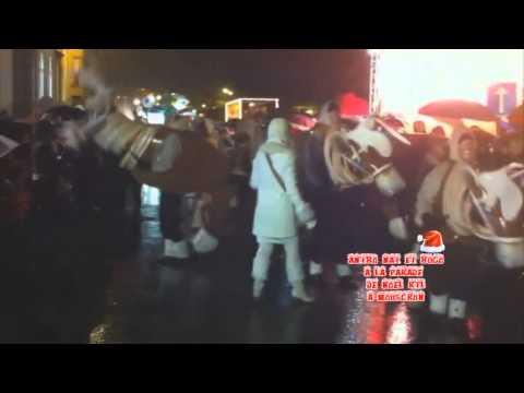 Parade De Noël RTL à Mouscron le 22.12.2012