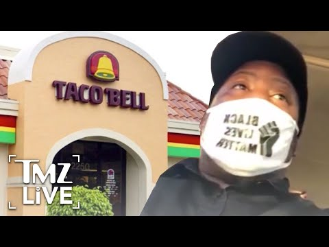 Taco Bell Fires Employee for Wearing Black Lives Matter Face Covering | TMZ Live