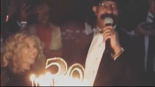 drakes dad sings happy birthday to his son