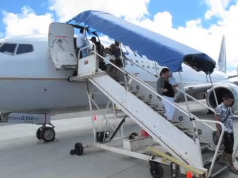 United Airlines Micronesia Island Hopper: 5 stops Honolulu to Guam