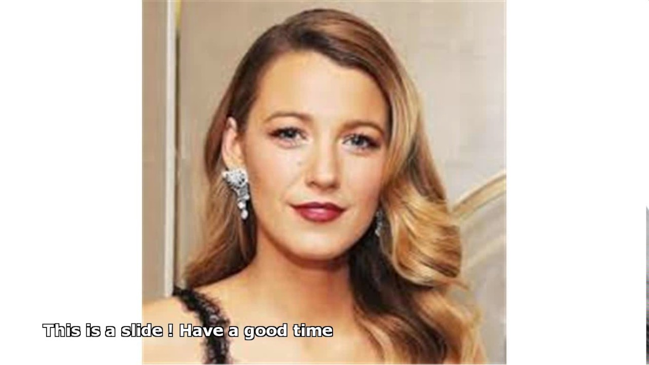 Blake Lively Hair Color Youtube