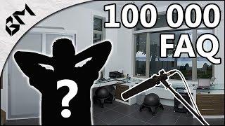 100 000 Abonnés : FAQ - Top 5 - Vos questions et... la tête de BUGMAN ?