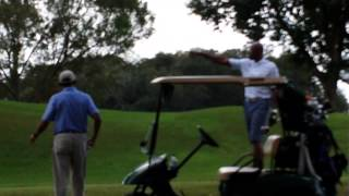 President Obama plays golf in Florida... I asked him about the Bears...