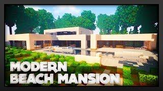 Minecraft - Modern Beach side Mansion