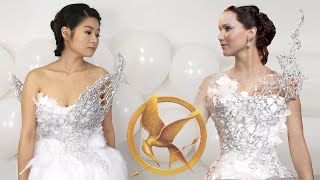 DIY Hunger Games Catching Fire Katniss Everdeen Wedding Dress | Halloween