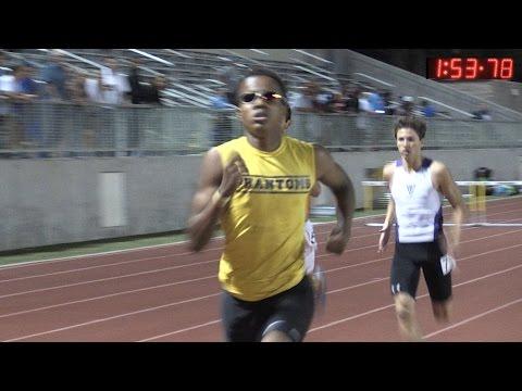 2015 Track - Pasadena Games - Men's 800 Meters (Invitational)