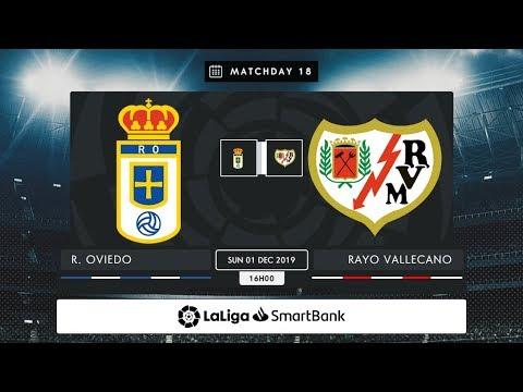 Real Oviedo - Rayo Vallecano MD18 D1600