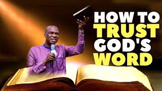 HOW TO TRUST GOD AΝD HIS WORD   APOSTLE JOSHUA SELMAN 2019