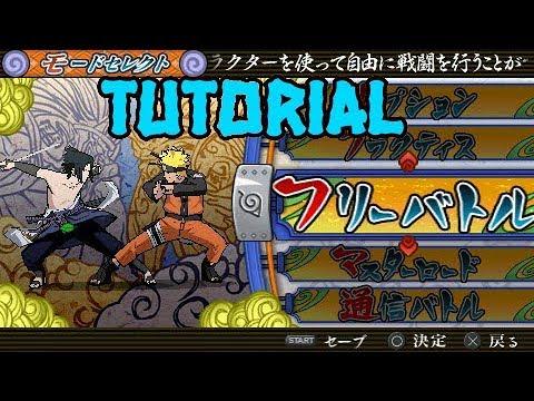 download naruto ninja accel 3 save data