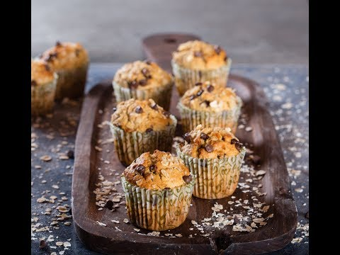 Oat & Choco Chip Muffins