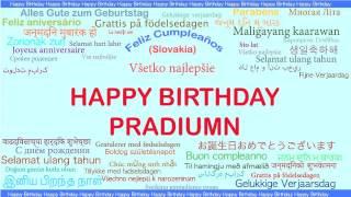 Pradiumn   Languages Idiomas - Happy Birthday
