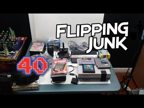 Flipping Junk - 40 - Nice Garage Sale Video Game Finds and ...