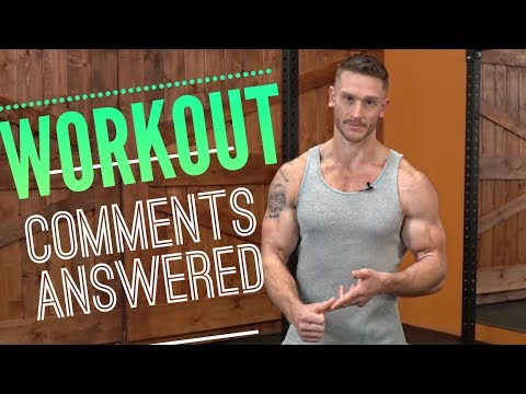Responding to WORKOUT Comments (Your Questions Answered)