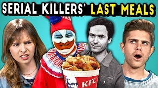 Serial Killer's Last Meals on Death Row (React)