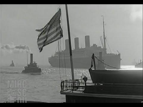 Cunard's Big Three in New York, 1925-1934