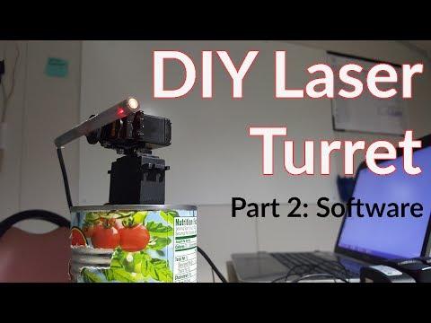 DIY Laser Turret | Part 2 The Software