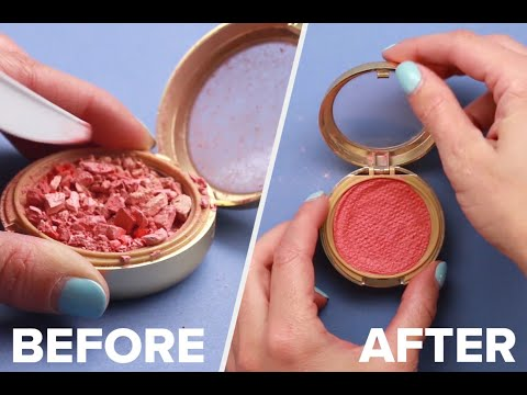 These 8 DIY Makeup Hacks Will Save Your Money