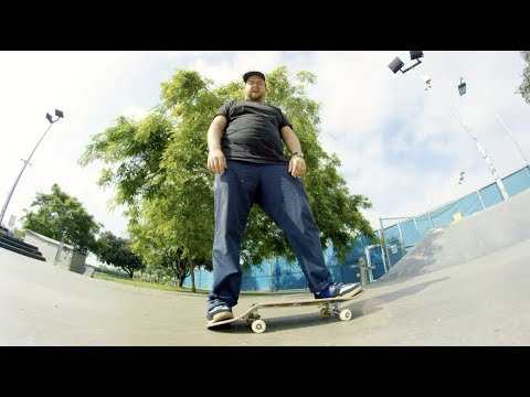 260 Lbs.VS. 100 Stairs: The Santa Cruz Unbreakable VX Skateboard Deck Wear Test